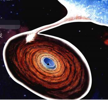 天文世界之最:引力最强的天体?——黑洞【附注音】插图(1)
