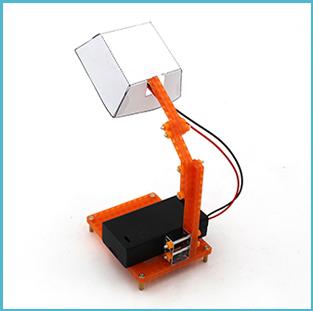 儿童科学教育科普模型:STEM拼装玩具,diy科技小制作——迷你小台灯插图(1)