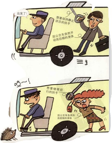 生活中的物理现象之惯性定律:想让溜冰鞋继续滑下去插图(1)