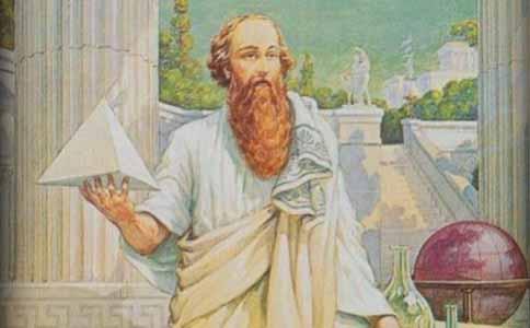 哲学家毕达哥拉斯创立毕达哥拉斯学派