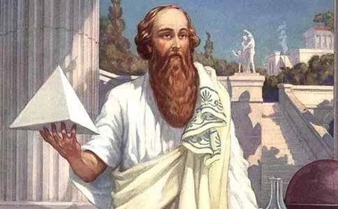 毕达哥拉斯发现勾股定理