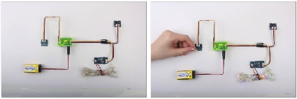 电学科技小制作(我是小创客):小牛吃草【磁力开关的应用】插图(7)