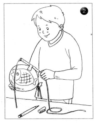 力学小实验:会飞的鱼——反作用力实验插图(2)