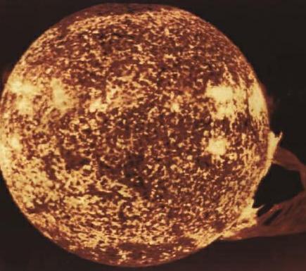 天文知识问答:什么是太阳黑子?插图(1)