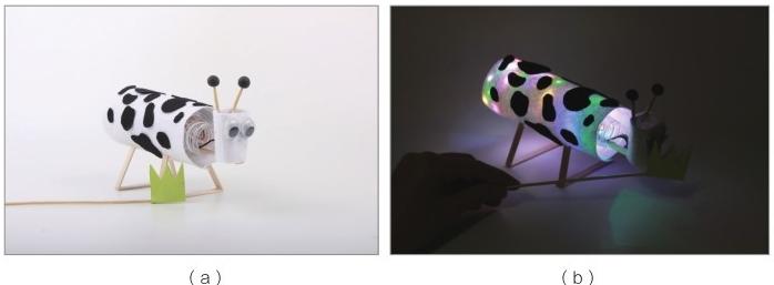 电学科技小制作(我是小创客):小牛吃草【磁力开关的应用】插图(23)