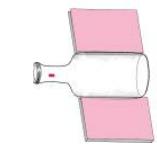 简单的儿童科学小实验:巧吹粉笔头【空气小实验】