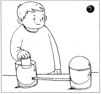力学小实验:模拟液压机——帕斯卡定律插图(3)