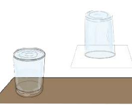 空气小实验:能托住水的纸【气压实验】