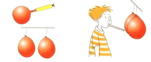 物理小实验:吹不散的气球【空气小实验】