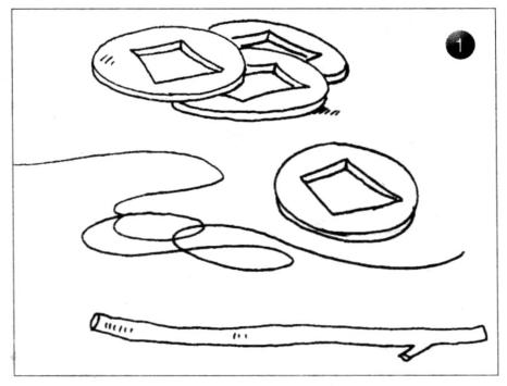 力学小实验:铜钱钟摆——共振实验插图(1)
