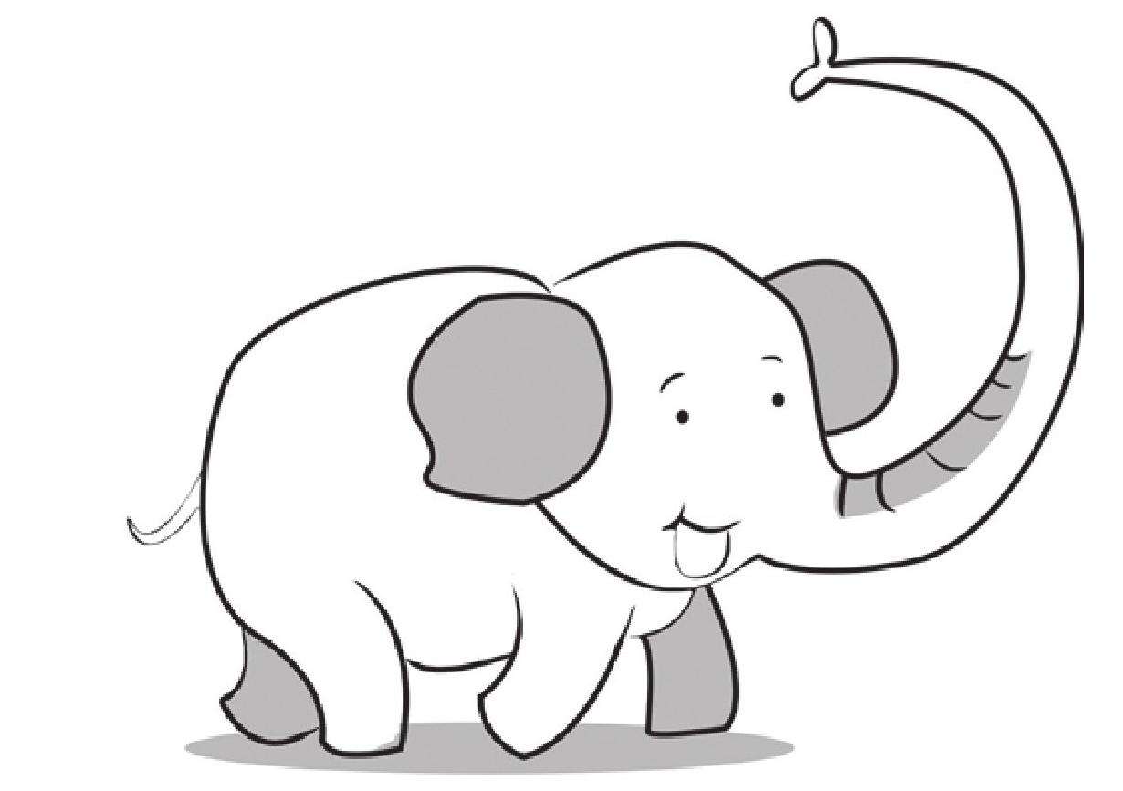 趣味生物科普知识:大象的长鼻子有什么功能?插图(1)