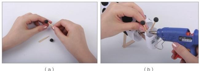 电学科技小制作(我是小创客):小牛吃草【磁力开关的应用】插图(20)