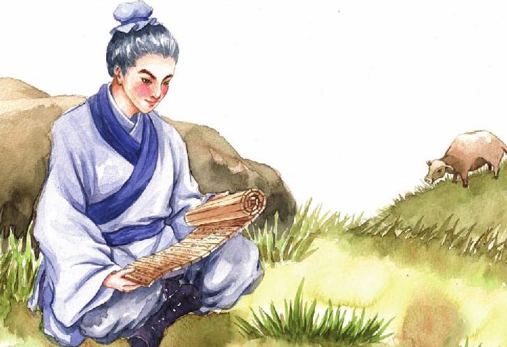 中国名人故事:勇挑重任的孔子插图(1)