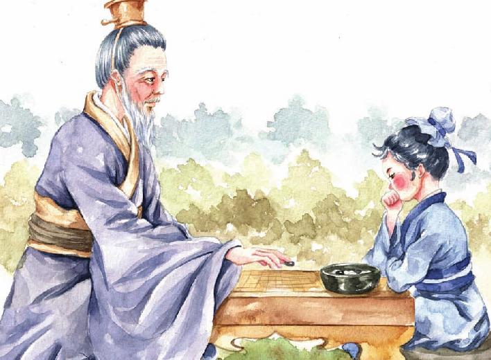 中国名人故事:棋中求知的孙武插图(1)