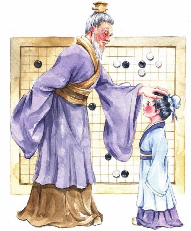 中国名人故事:棋中求知的孙武插图(2)