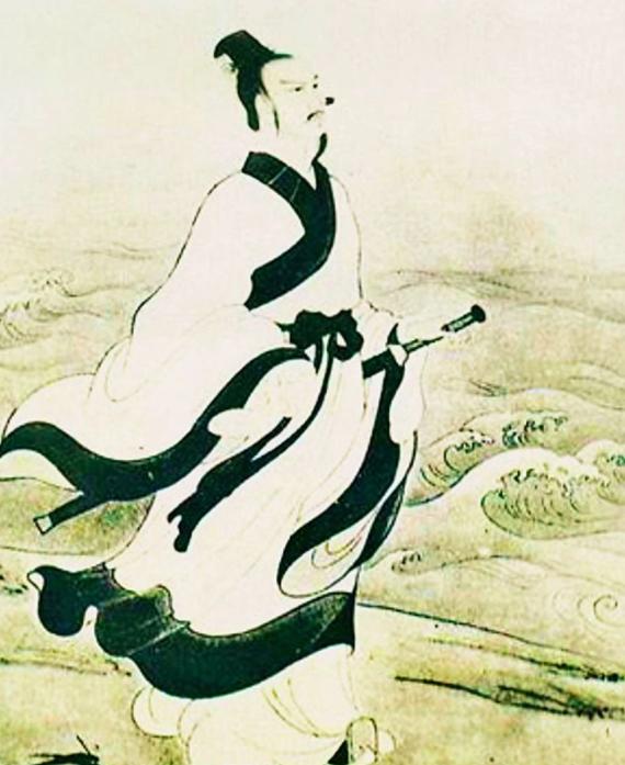 中国名人故事:醉心民谣的屈原插图