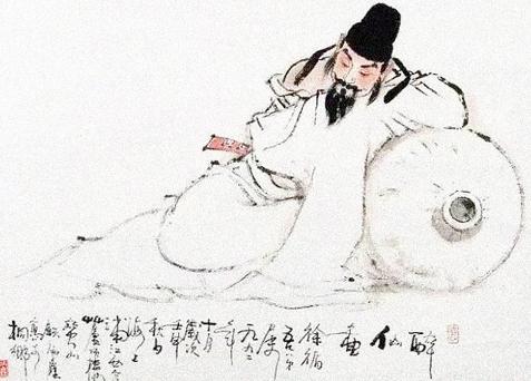 """中国名人故事:慎写""""黄鹤楼""""的李白插图(2)"""