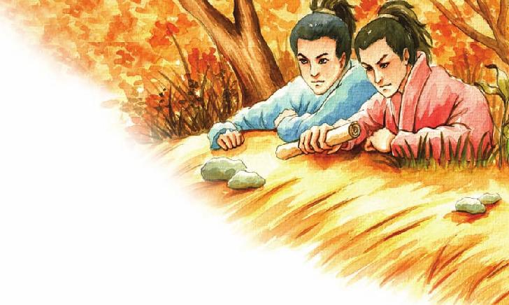 中国名人故事:足智多谋的范仲淹插图