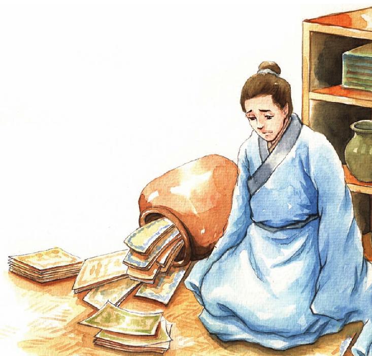 中国名人故事:为民申冤的文天祥插图