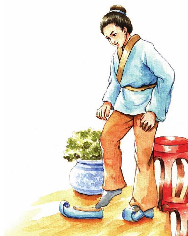 中国名人故事:经受严格家教的戚继光插图