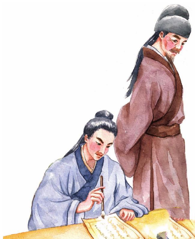 中国名人故事:以病人为先的李时珍插图