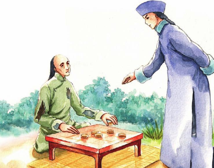 中国名人故事:被乞丐教训的左宗棠插图