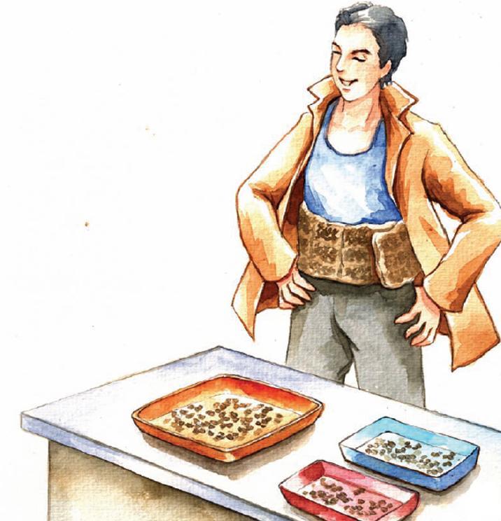 中国名人故事:让饥饿远离中国的袁隆平插图