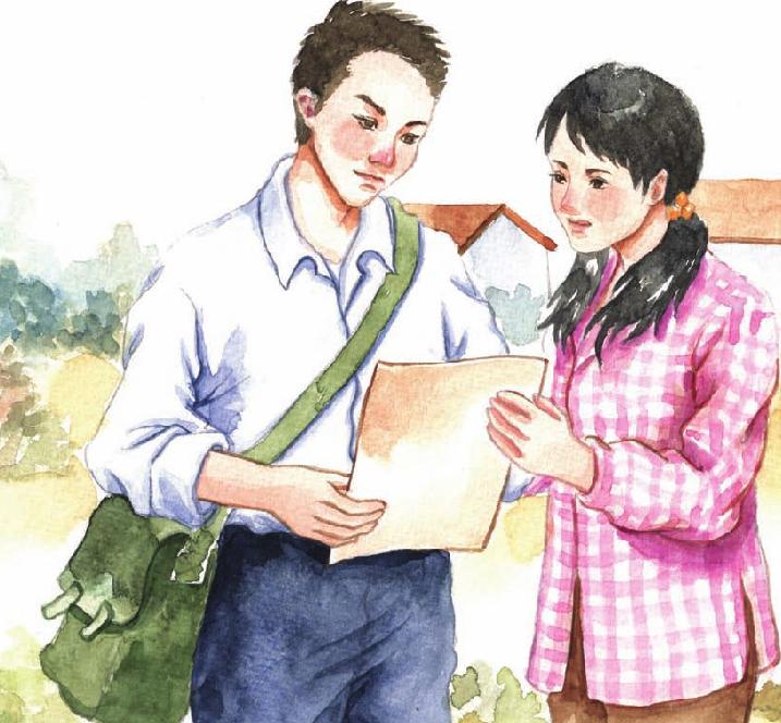 中国名人故事:爱在天涯的路遥插图
