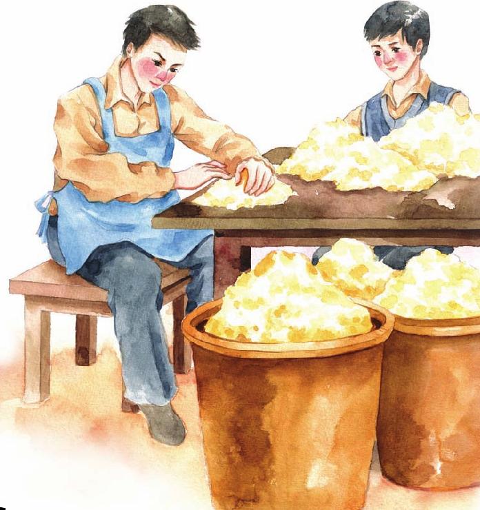 中国名人故事:从小处做起的王永庆插图