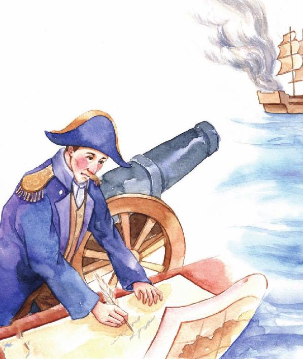 外国名人故事:巧计破敌的拿破仑插图