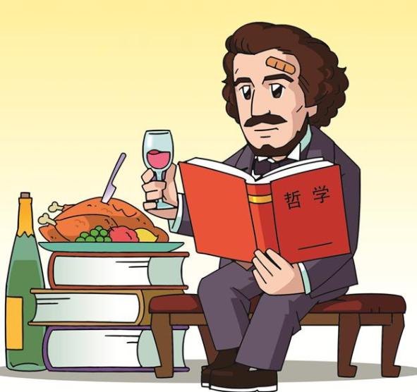 外国名人故事:不迷信权威的马克思插图