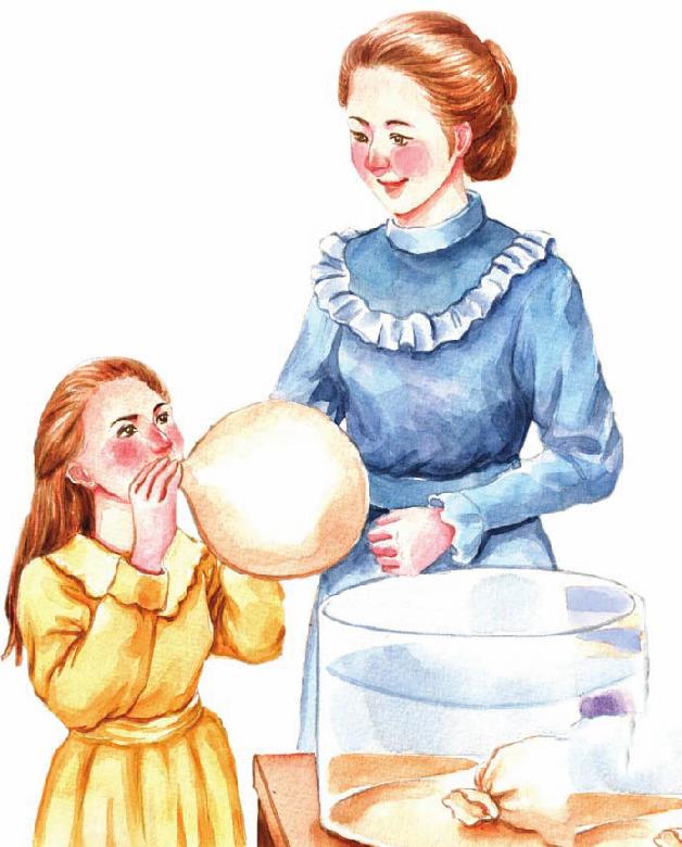 外国名人故事:居里夫人的实验课插图