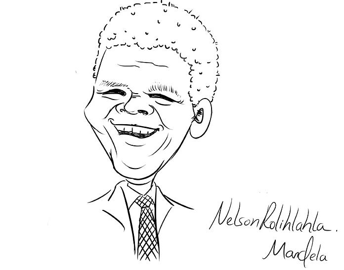 外国名人故事:永不屈服的曼德拉插图