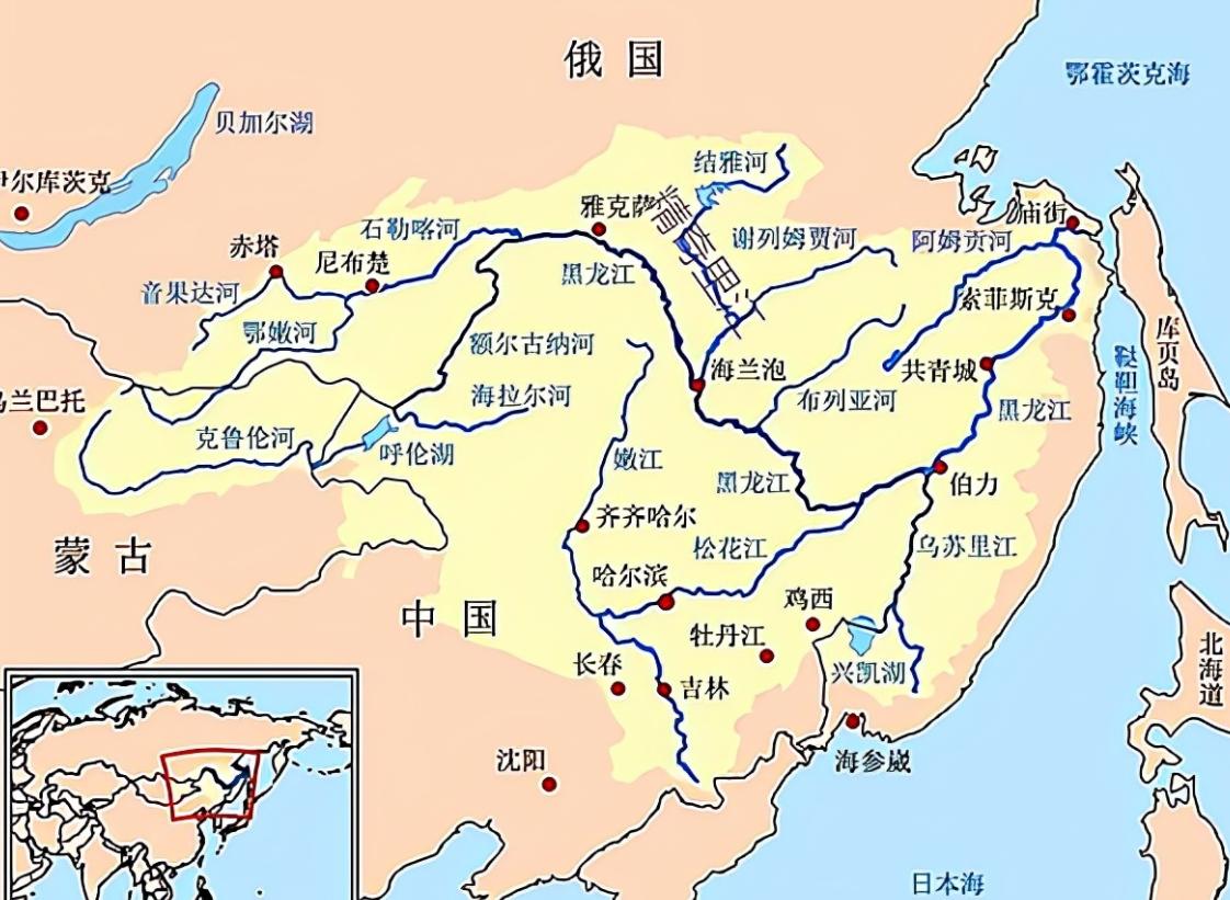长江为何叫江,黄河为何叫河?简述江与河的差别。附:长江流域地形图和黄河流域示意图插图(4)
