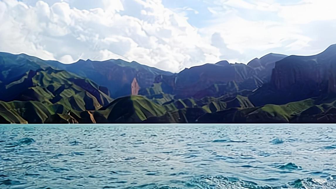 长江为何叫江,黄河为何叫河?简述江与河的差别。附:长江流域地形图和黄河流域示意图插图(5)