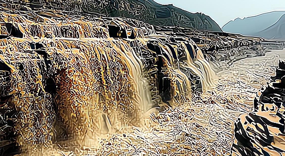 长江为何叫江,黄河为何叫河?简述江与河的差别。附:长江流域地形图和黄河流域示意图插图(8)