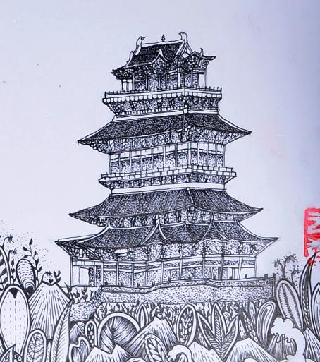 古诗词与地理:欲穷千里目,更上一层楼——鹳雀楼在哪里,鹳雀楼上有鹳雀吗?插图