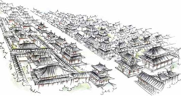 古诗词与地理:谁家玉笛暗飞声,散入春风满洛城——中国四大古都之一的洛阳插图