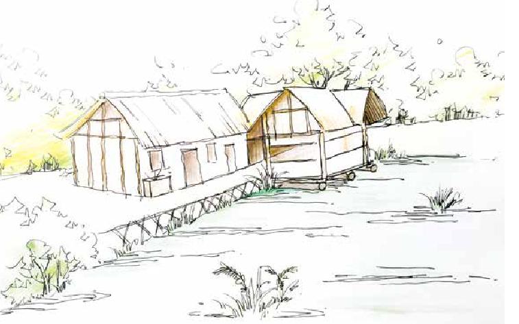 古诗词与地理:江畔独步寻花——浣花溪旁的杜甫草堂是用茅草盖成的吗?插图