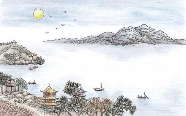 古诗词与地理:遥望洞庭山水翠,白银盘里一青螺——洞庭山乃湖中小岛插图