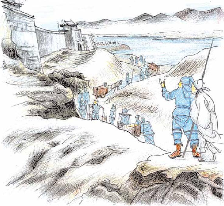 """古诗词与地理:山一程,水一程,身向榆关那畔行——榆关为什么被誉为""""万里长城第一关""""?插图"""