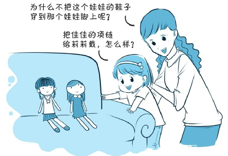培养注意力的小游戏:给娃娃换装插图(1)
