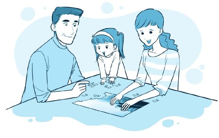 培养注意力的小游戏:有趣的拼图游戏插图(1)