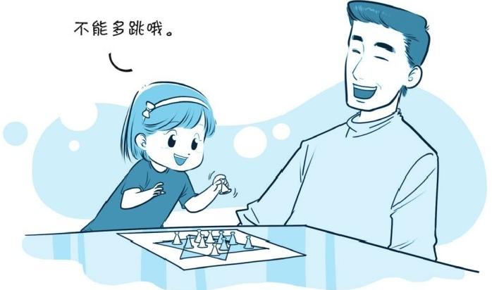 培养注意力的小游戏:下跳棋,跳跳跳插图(1)