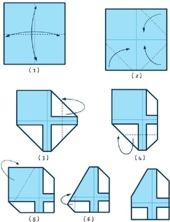 培养注意力的小游戏:学折纸,乐趣多插图(2)