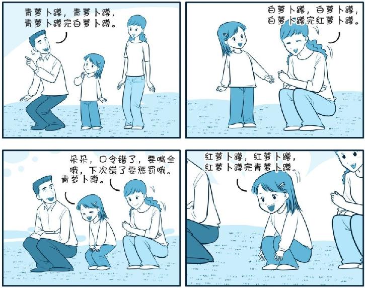 培养注意力的小游戏:萝卜蹲游戏插图(1)