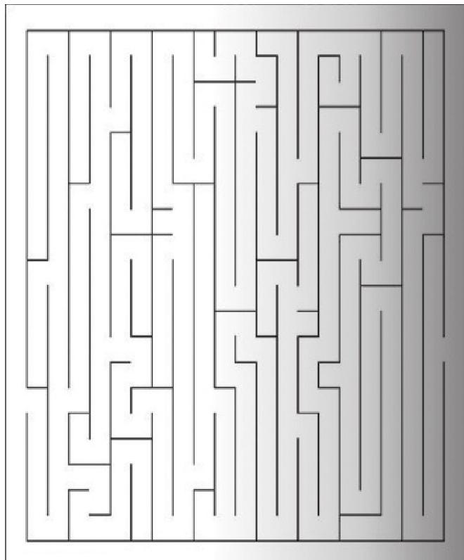 培养注意力的小游戏:纸上迷宫游戏插图(2)