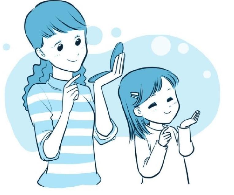 培养注意力的小游戏:神奇的镜子游戏插图(2)