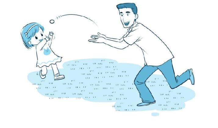 培养注意力的小游戏:乒乒乓乓来接球插图(1)