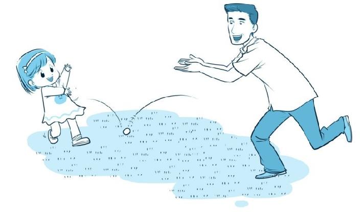 培养注意力的小游戏:乒乒乓乓来接球插图(2)